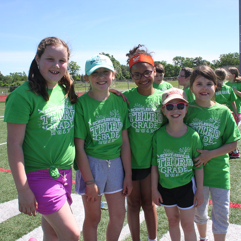 Field Days at Schuylerville Elementary School