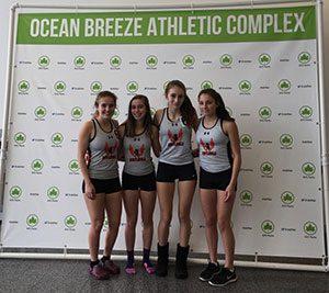 Girls team who set new school record