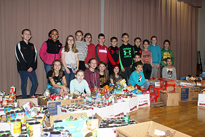 KC Club sort donations