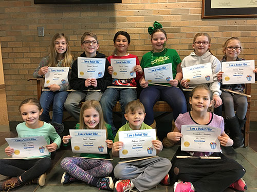 Bucket Fillers for March 17