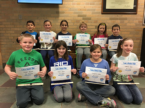 Bucket Fillers for March 10