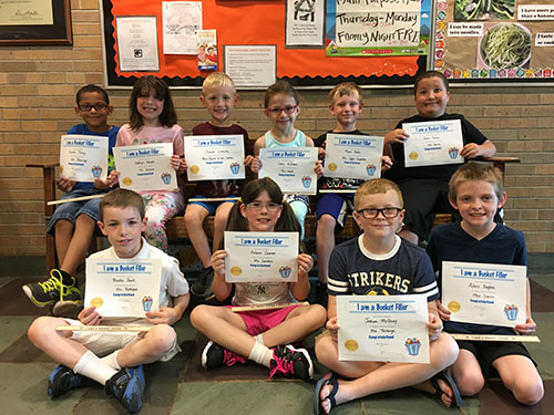 Bucket Fillers for May 19