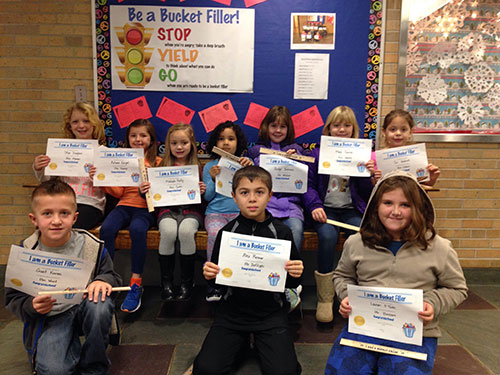 Bucket Fillers for Dec. 2