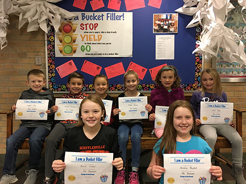 Bucket Fillers for Dec. 9