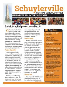 Capital Project Newsletter