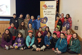 Students in grades 3-5 who participated in the Read for Ronald McDonald House Program during the 2015-16 school year.