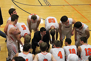 Schuylerville High School boys basketball team