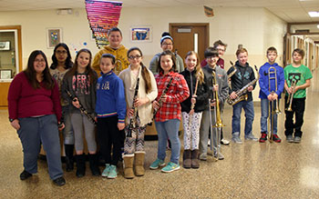 Students in grades 5 and 6 who participated in the New York State School Music Association (NYSSMA) Solo Festival
