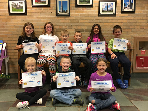 Bucket Fillers for Nov. 3