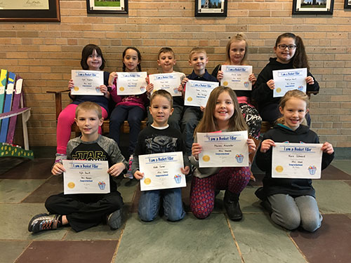 Bucket Fillers for Jan. 26, 2018
