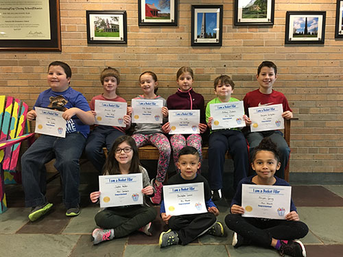 Bucket Fillers for Feb. 9, 2018