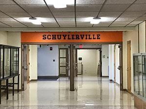 Schuylerville sign