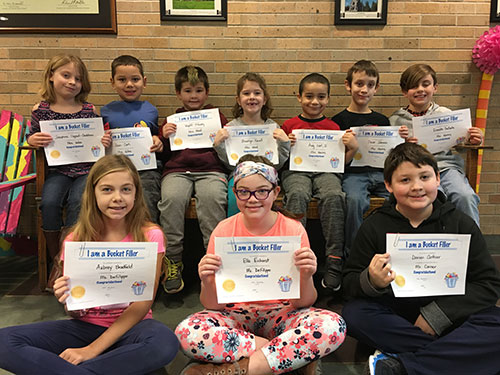 Bucket Fillers for March 9