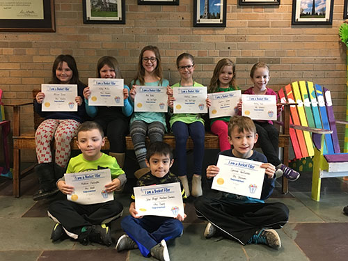 Bucket Fillers for March 16, 2018