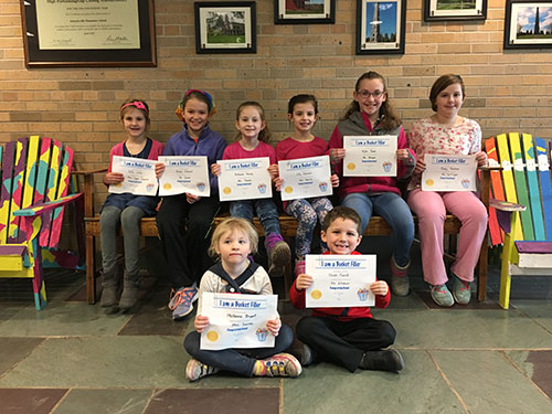 Bucket Fillers for March 23, 2018