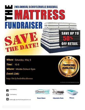 Mattress Fundraiser Flyer