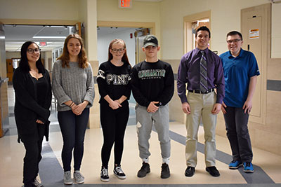 Students selected for Talent Unlimited