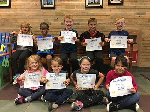 Bucket Fillers for Oct. 12