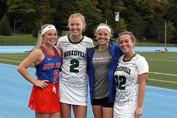 (L-R): Morgan Gunter, Grace Hanehan, Kaitlyn Gunter, Kaylee Houseworth