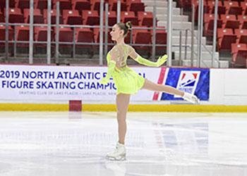 Brenna Coonradt skating