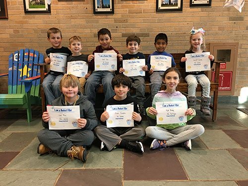 Bucket Fillers for Jan. 4