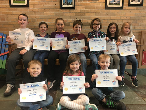 Bucket Fillers for February 1, 2019