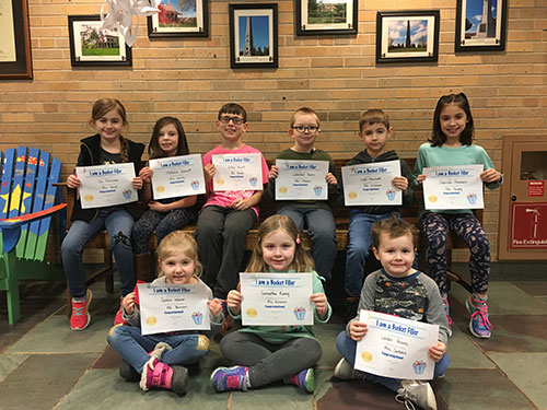 Bucket Fillers for Feb. 8