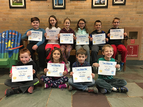 Bucket Fillers for April 5