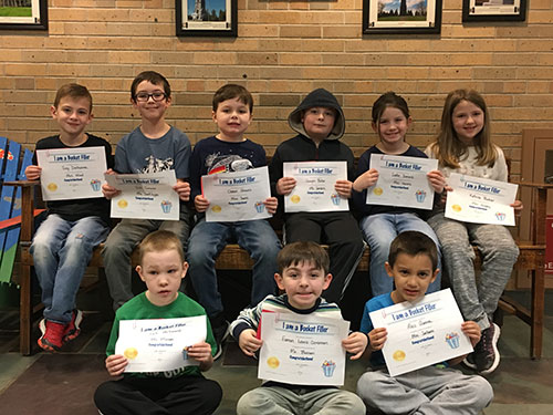 Bucket Fillers for April 12