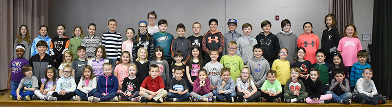 Students who participated in the Read for Ronald McDonald House Program