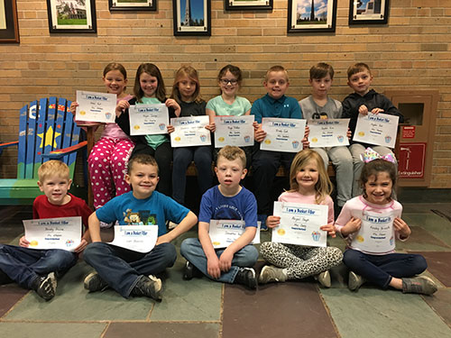 Bucket Fillers for May 3