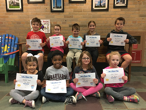 Bucket Fillers for May 17, 2019