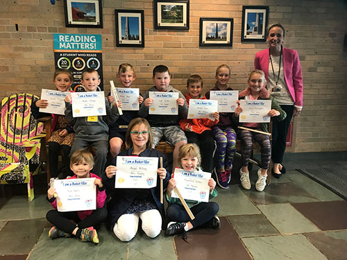 Bucket Fillers for October 11, 2019