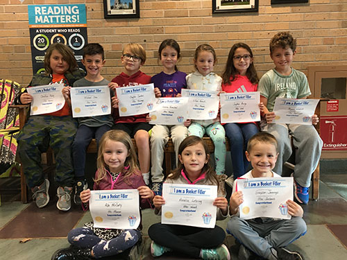 Bucket Fillers for Nov. 1