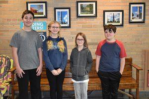 2019 Schuylerville spelling bee winners