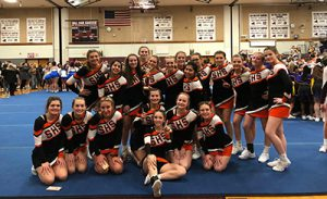 Schuylerville High School cheerleading team