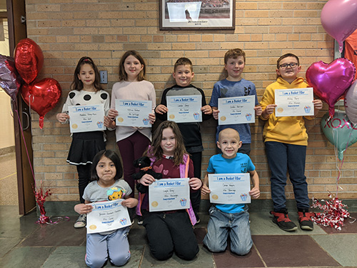 Feb. 14 bucket fillers