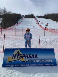 Hannah Klingebiel at the Alpine Skiing State Championship