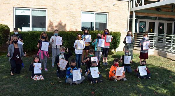 Summer enrichment program participants
