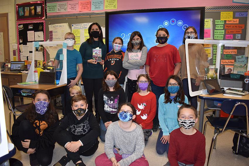 Ms. Senatore's fifth grade class