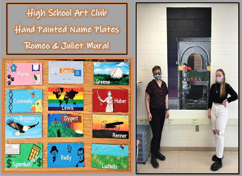 High school art club activities