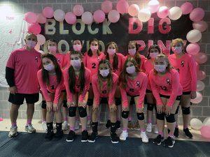 Schuylerville JV volleyball team