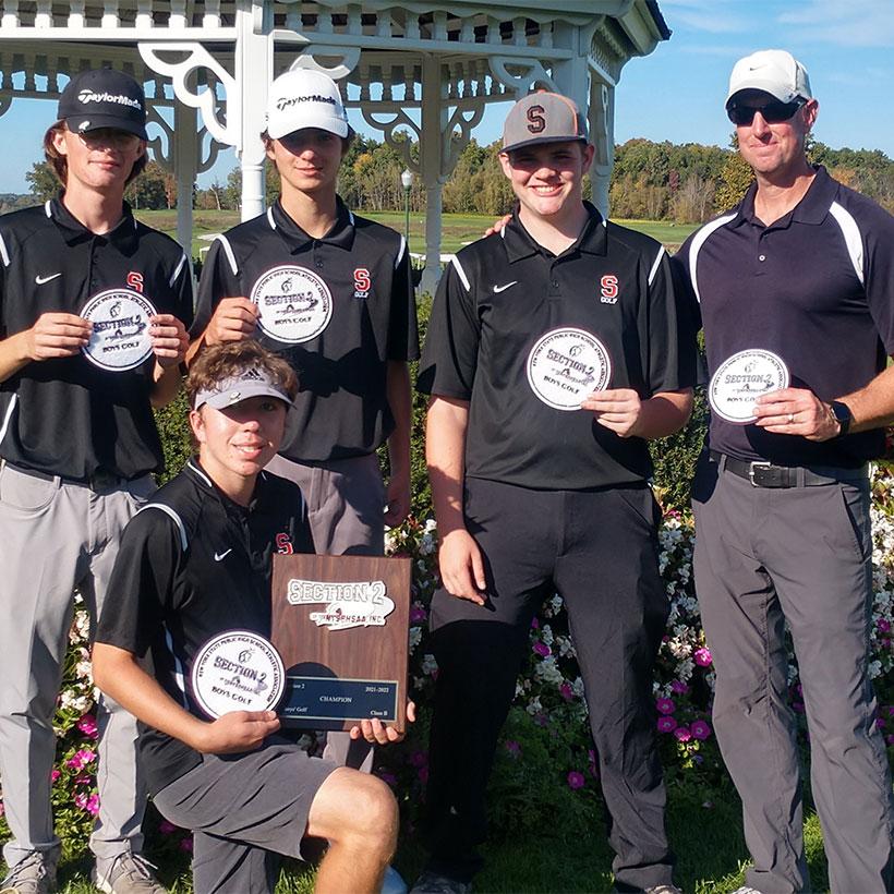 2021 Schuylerville golf team